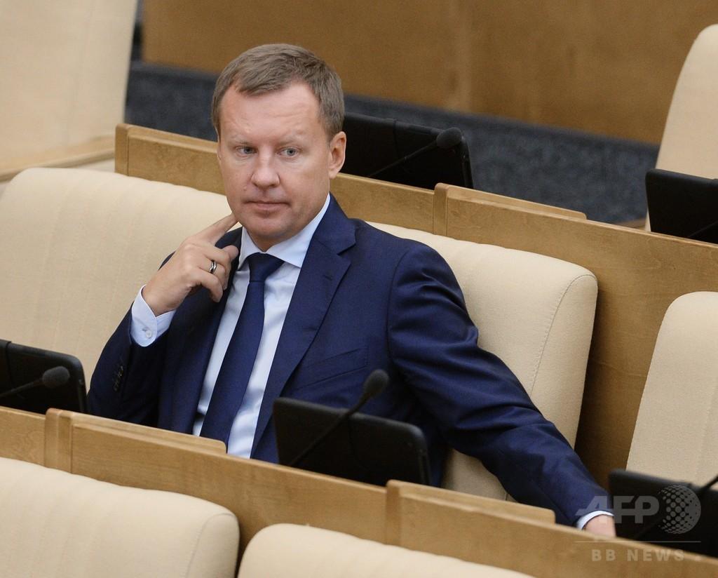 ロシア元議員白昼射殺、ウクライナは「国家テロ」と非難