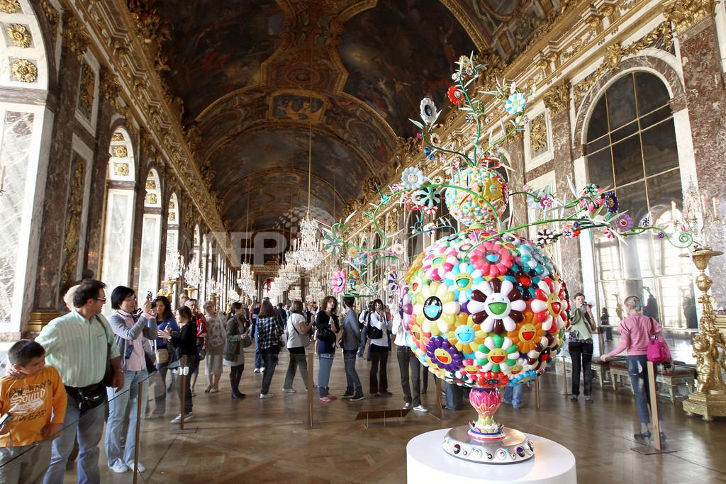 ベルサイユ宮殿で村上隆氏の作品展、14日から