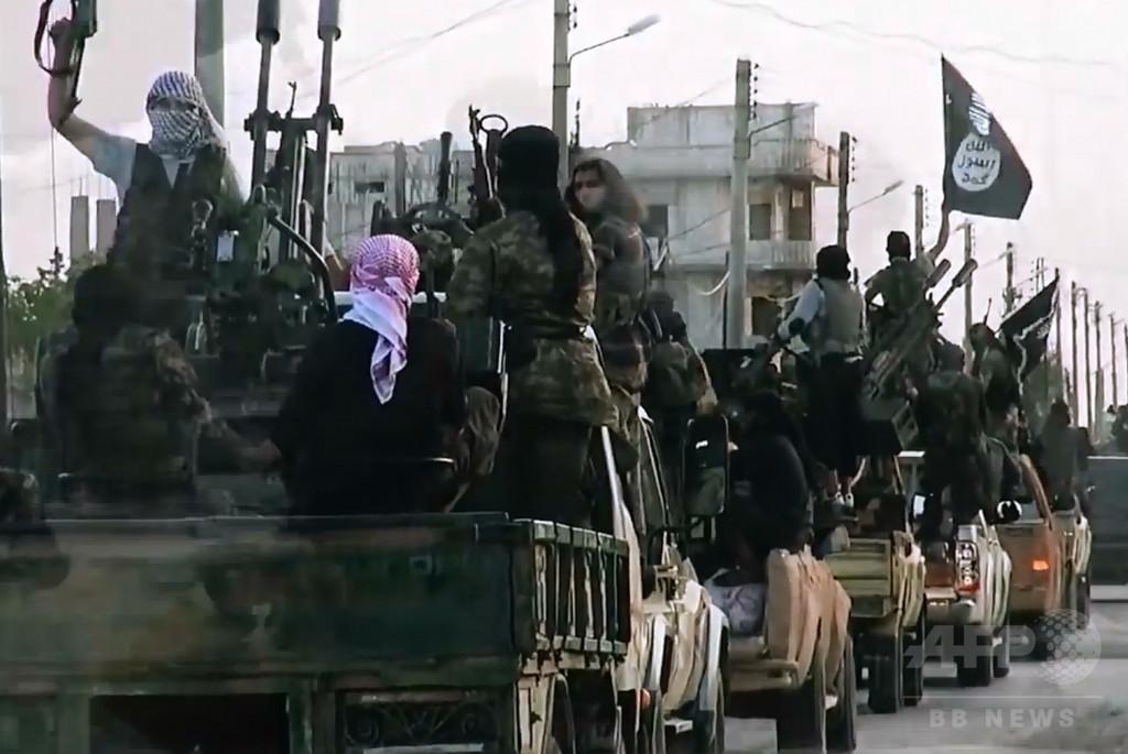 IS最高指導者の息子、シリア中部で交戦中に死亡