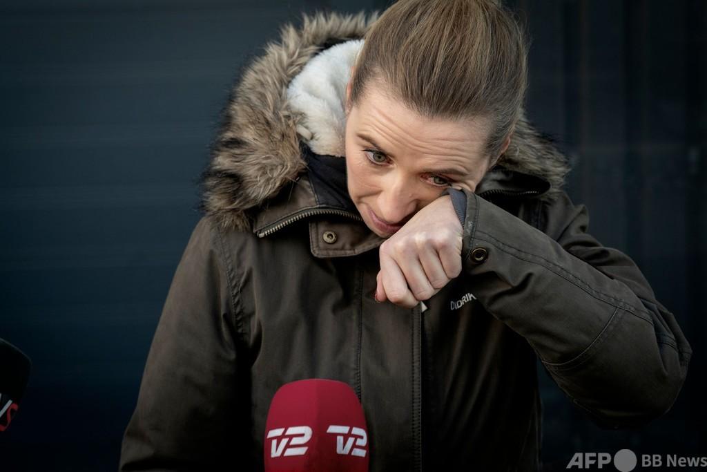 デンマーク首相が涙の謝罪 ミンク殺処分の不手際で