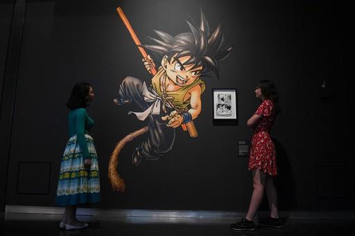 大英博物館で「漫画展」開幕、日本国外では最大規模