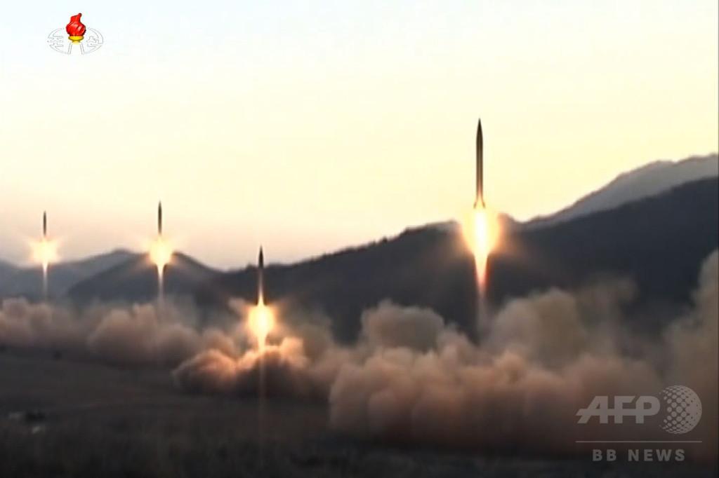 北朝鮮、サリン弾頭化能力保有の可能性 安倍首相が指摘
