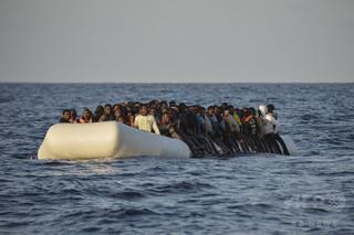 地中海で移民乗せたボート2隻沈没 11人死亡、約200人行方不明