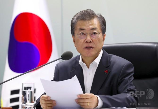 韓国大統領、13日から訪中 習主席と北朝鮮問題を協議へ