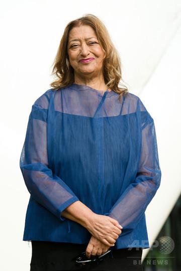 ザハ・ハディド氏、新国立のデザイン決定受け批判