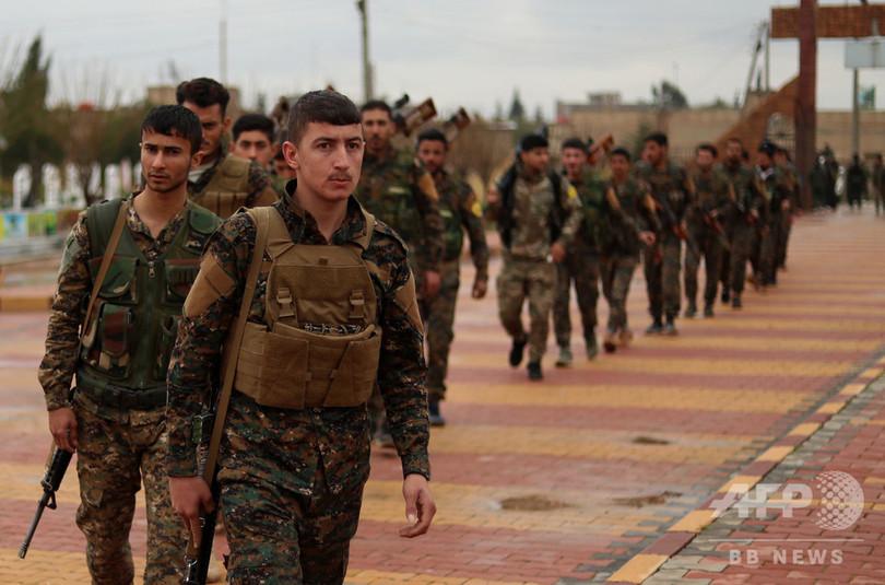 IS掃討へ「最後の戦い」開始 シリアでクルド勢力、激しい戦闘に