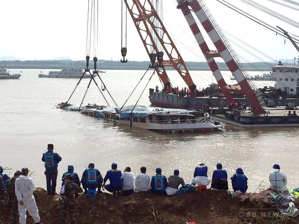 中国客船沈没、死者396人に 1948年以降最悪の船舶事故