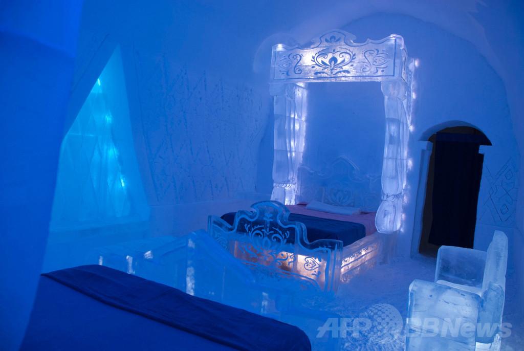 ディズニー映画『アナと雪の女王』をイメージ、氷の部屋が登場