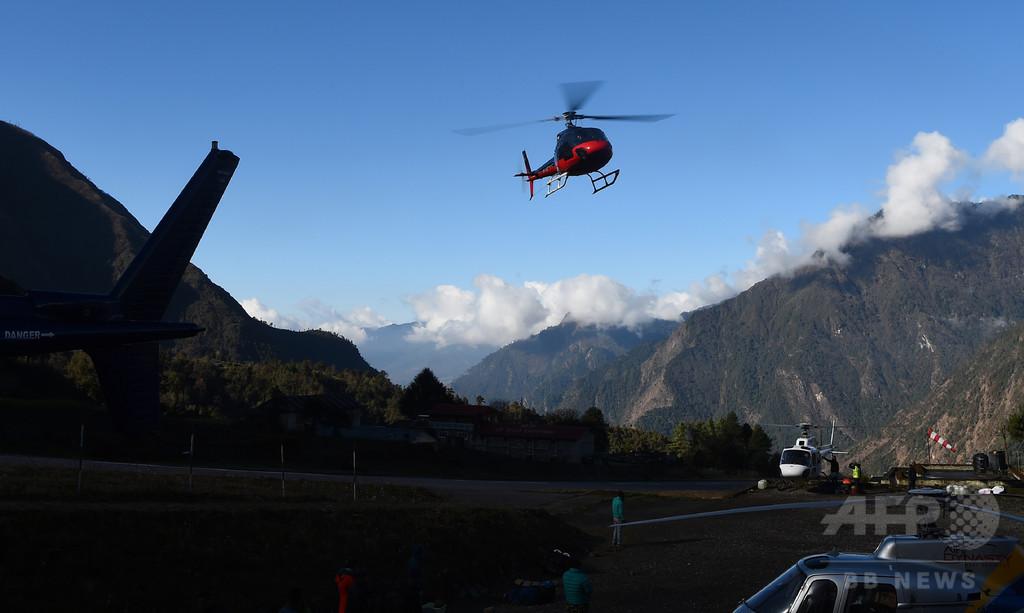 エベレストで横行する「不必要な救助」、ヘリ利用で保険金搾取