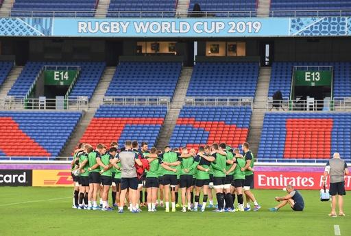 日本のライバルが初戦へ、アイルランドは実力者欠く陣容 ラグビーW杯