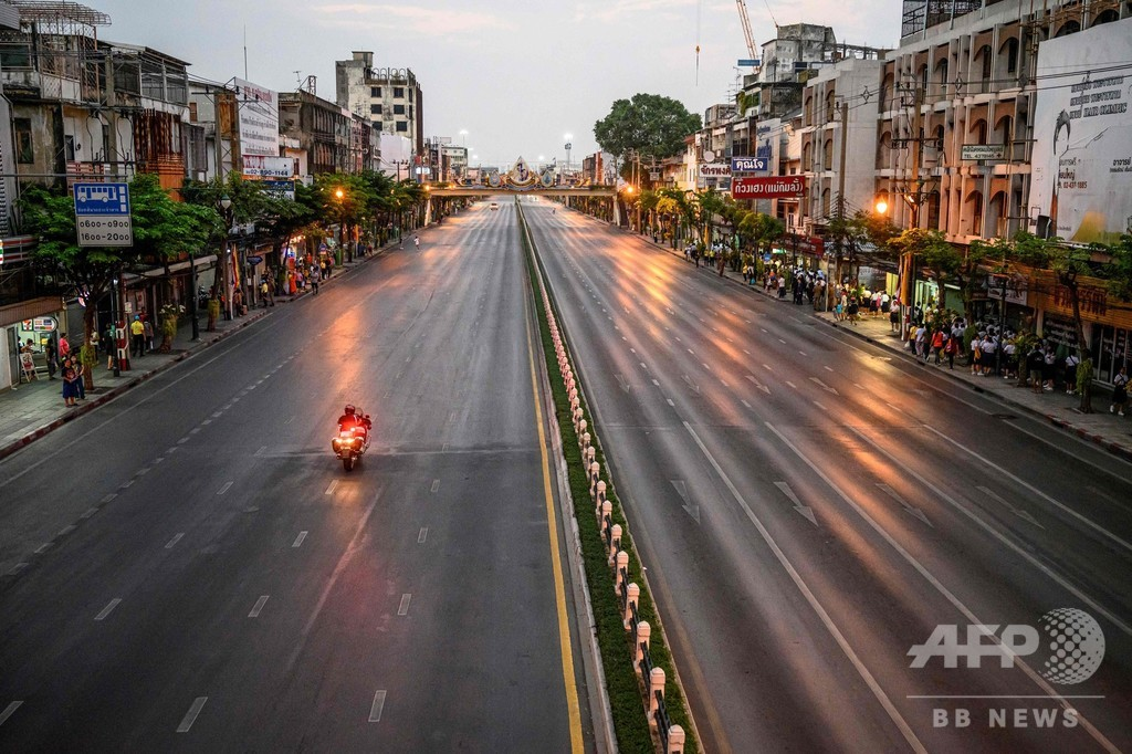 タイ首都、王室車列通行時の道路封鎖中止へ 世論に異例の配慮