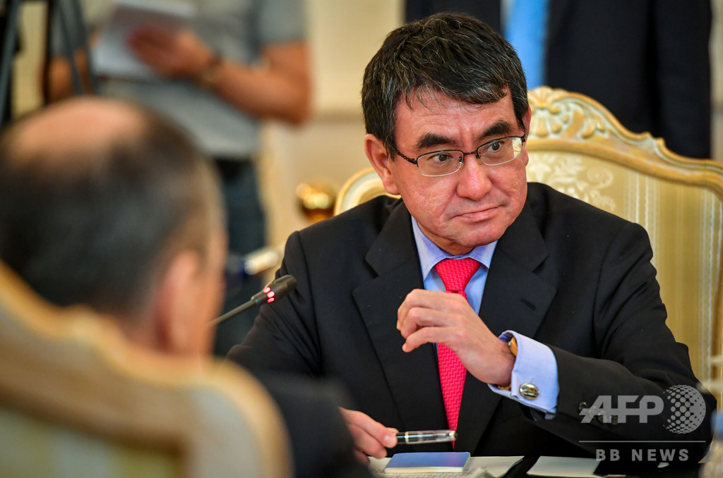 ロシア外相、北方領土問題「立場の違い今なお大きい」