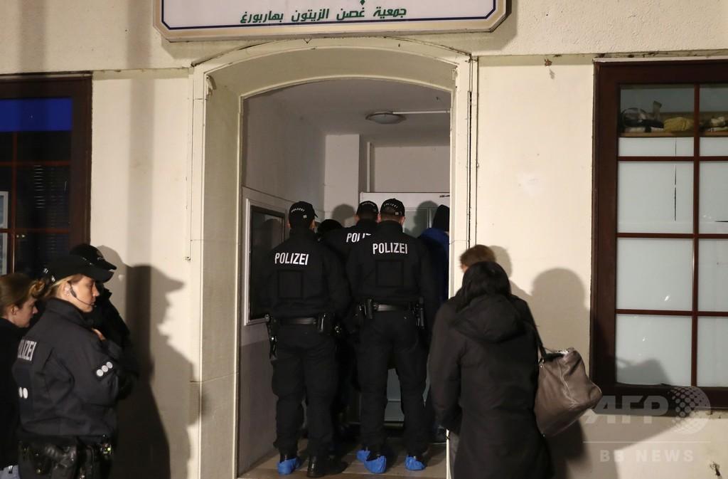 ドイツ10州でイスラム組織を一斉捜索、憎悪扇動の疑い