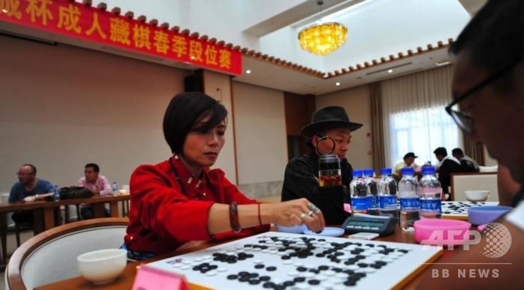 チベットの伝統的なチベットチェス新たに25人の段位棋士誕生