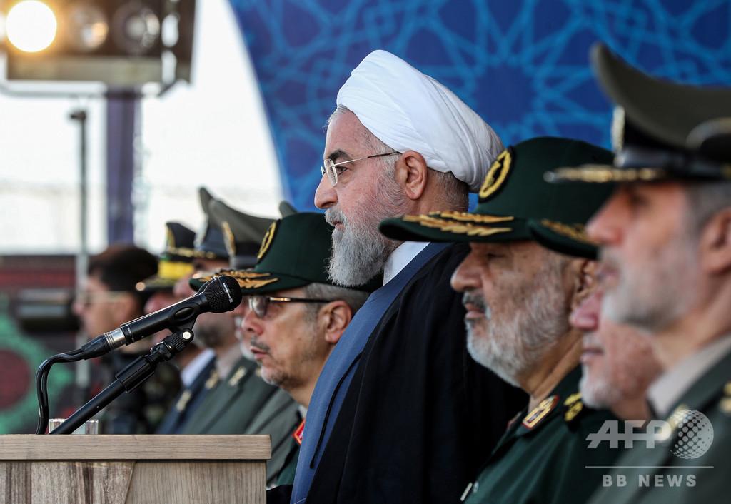 イラン大統領、中東の外国部隊駐留を非難 ホルムズ平和案提案へ