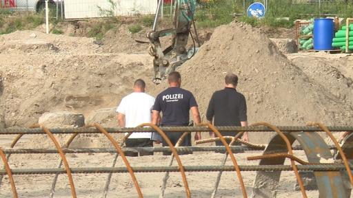 動画:建設現場で第2次大戦時の不発弾発見、独ベルリン