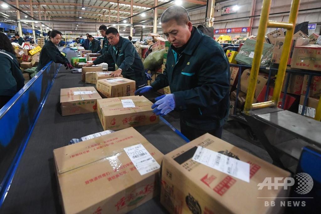 新型ウイルス感染防止用の物資配送を優先、中国・郵政当局が緊急通達