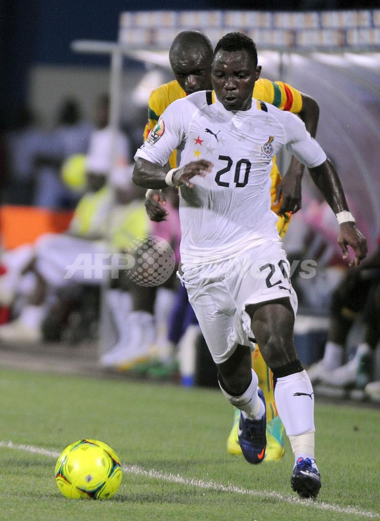 ガーナとギニアが勝利、アフリカネイションズカップ