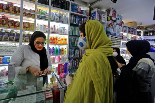 新型ウイルス感染、イランで新たに3人死亡 死者15人に