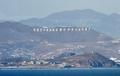 北朝鮮が韓国に砲撃、韓国海兵隊員1人死亡 十数人負傷