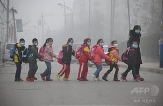中国の大気汚染、調査対象都市の8割が国内基準満たせず