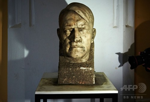 ヒトラー頭像、地中から偶然発見 ポーランド