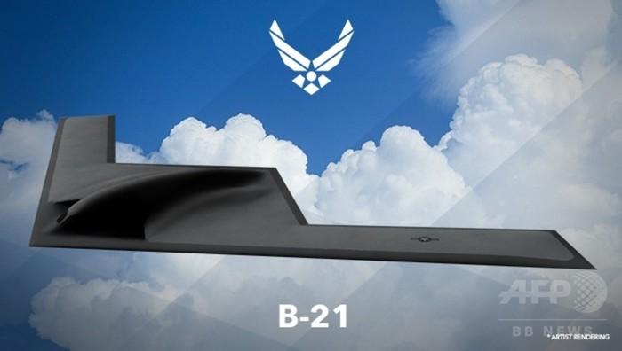 米空軍、次世代爆撃機の完成予想図を初公開