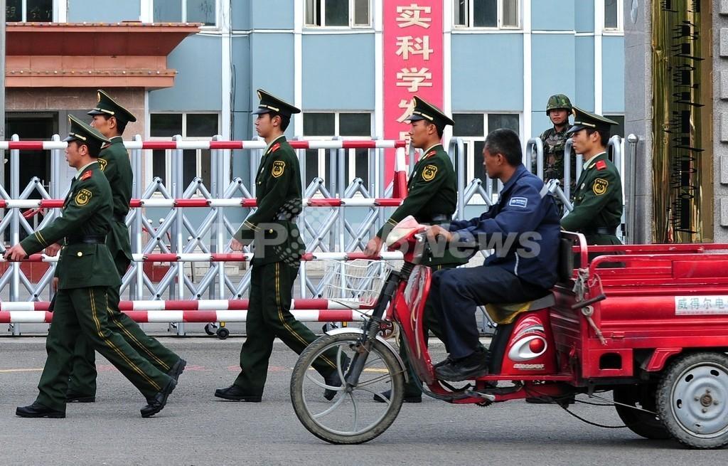 内モンゴル自治区、デモ拡大恐れ警戒強化