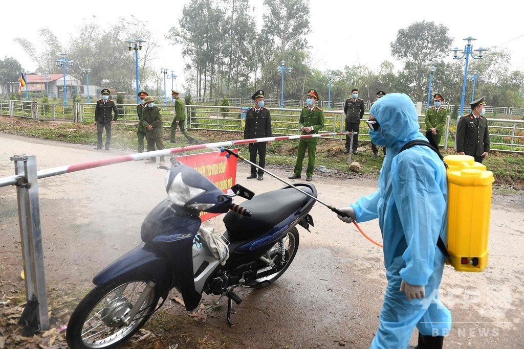 ベトナム、新型ウイルス流行で住民1万人の村を隔離