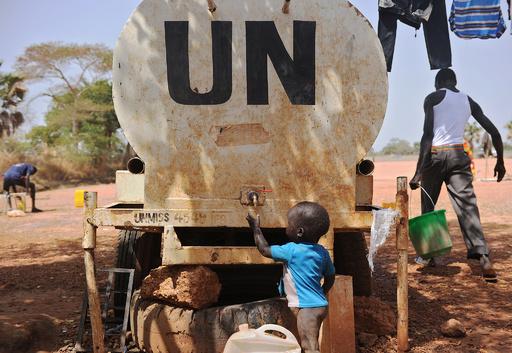 拉致された国連などの援助関係者ら、無事解放 南スーダン