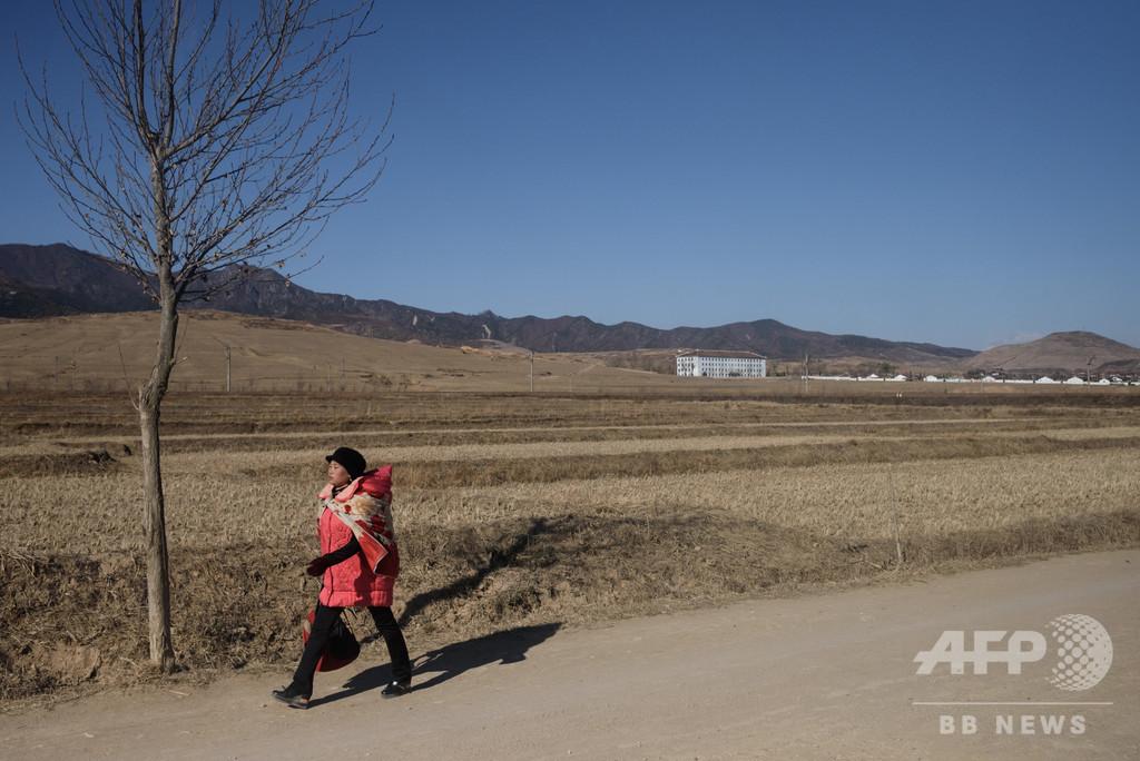 北朝鮮の2018年食糧生産量、ここ十数年で最低 国連