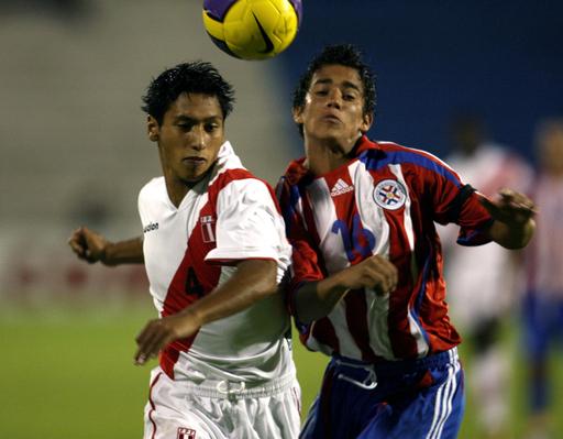 <サッカー 07南米ユース選手権>パラグアイ ペルーを降し2勝目を挙げる - パラグアイ