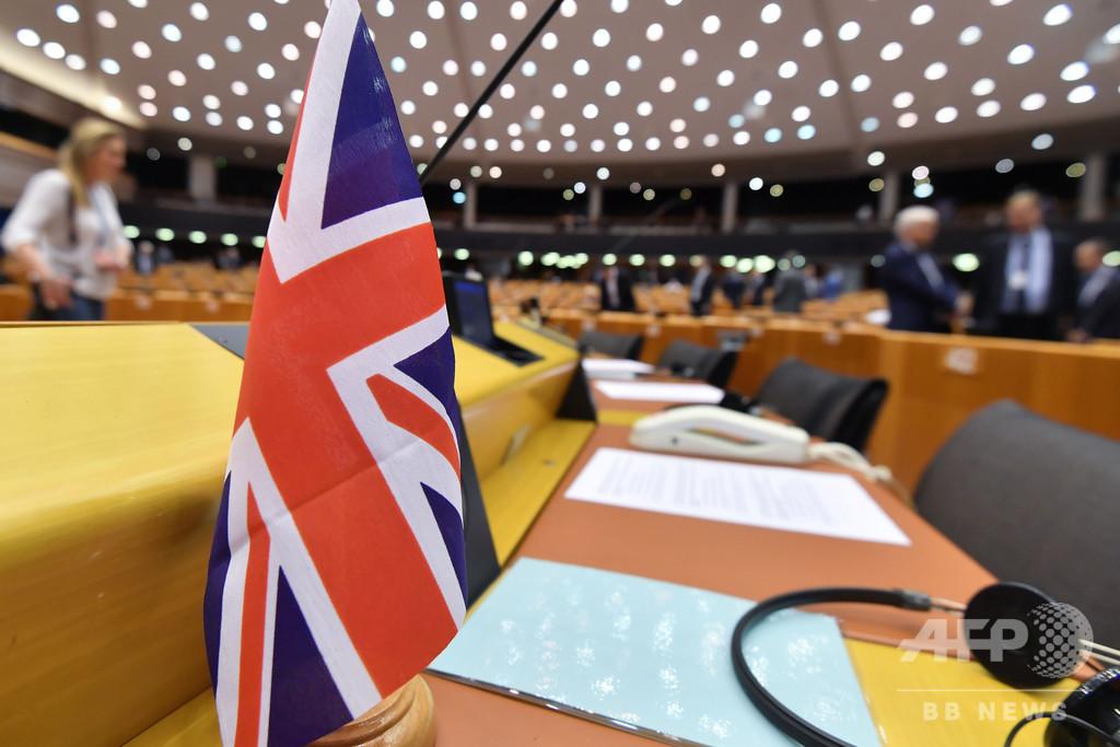 「合意なき離脱後も英国人のビザ不要」欧州議会、法案を可決