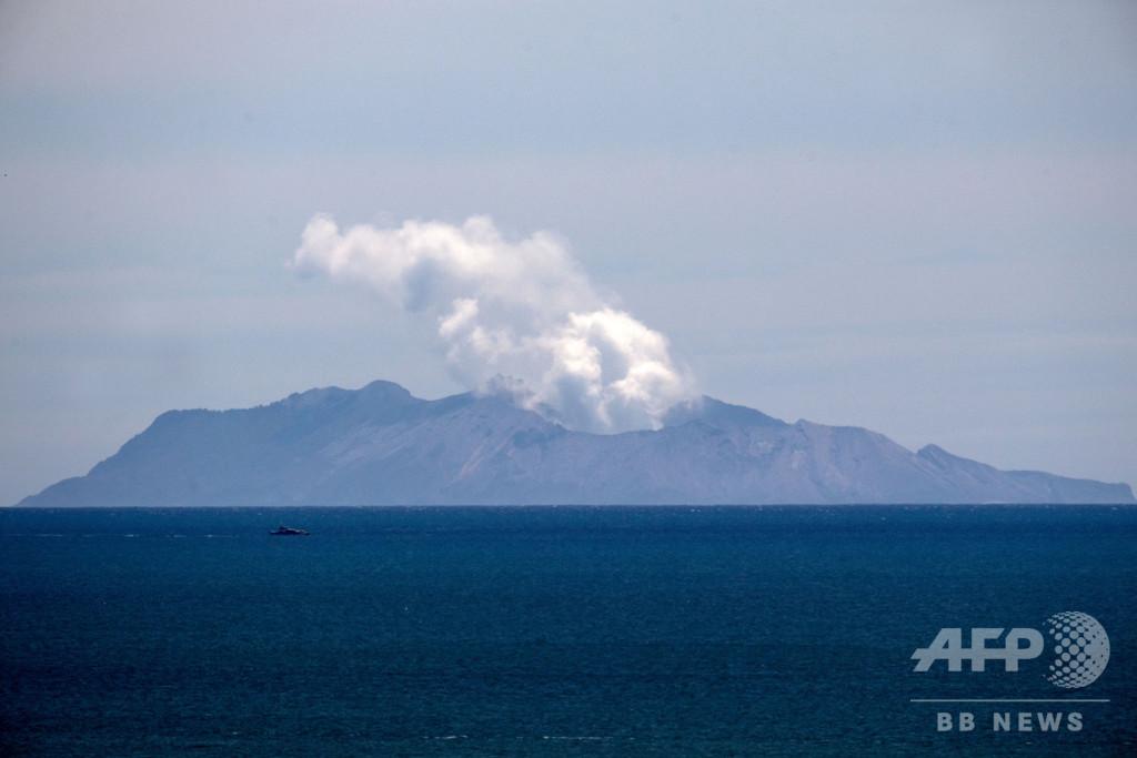 NZ火山噴火、死者19人に