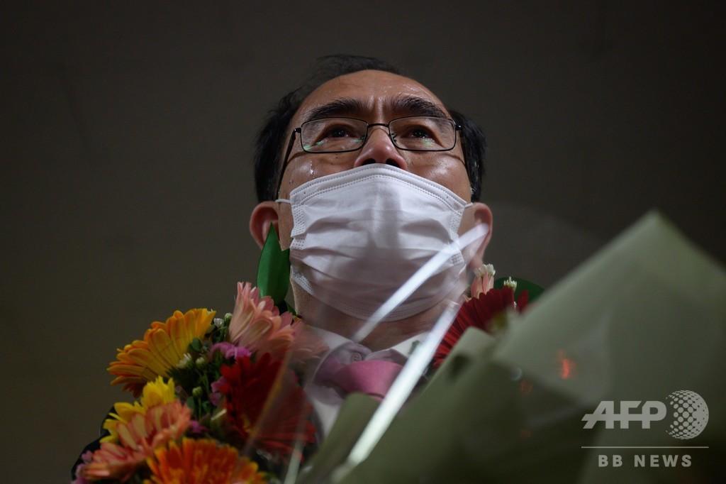 北の元高官、脱北者初の議席獲得 与党圧勝の韓国総選挙
