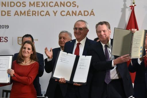 米とメキシコ、カナダが新NAFTAの一部修正に合意 批准にめど
