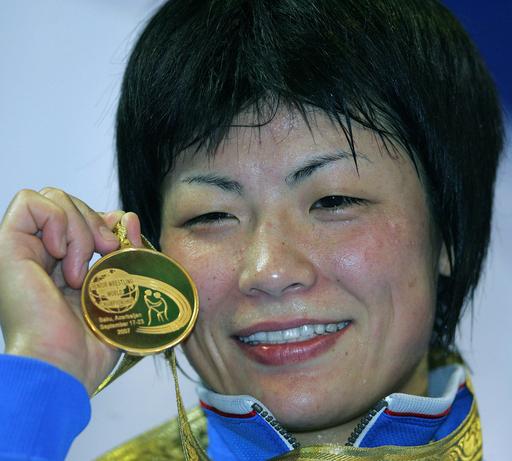 坂本 51キログラム級で大会3連覇