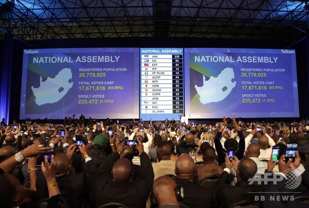 南アフリカ総選挙、与党ANCが勝利も得票率は過去最低 写真8枚 国際 ...