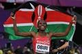 セメンヤが女子800mで3度目V、ケニア勢が2種目で金 世界陸上