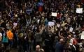 トランプ氏の選挙集会で小競り合い、集会は延期に 米シカゴ