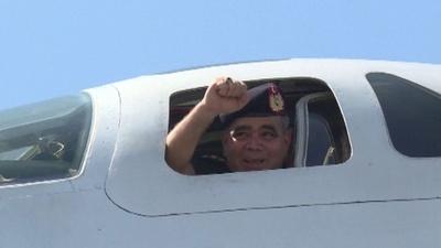 動画:ロシア長距離爆撃機、演習のためベネズエラ入り