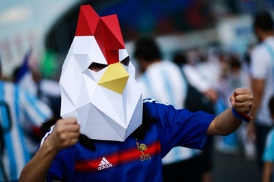 【写真特集】熱狂もワールドクラス! W杯決勝Tで声援送るサポーター