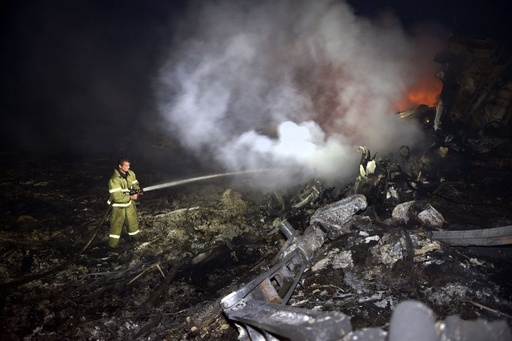 【写真特集】ウクライナのマレーシア機墜落現場