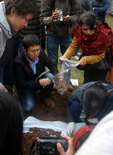 旧日本兵11人の遺骨収集開始、インド・アッサム州