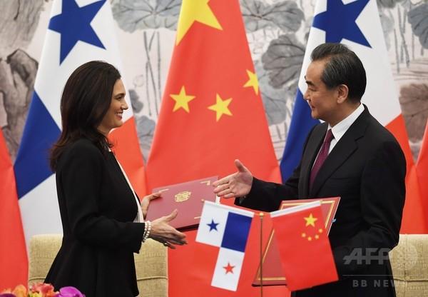 パナマ、中国と国交樹立 台湾と断交
