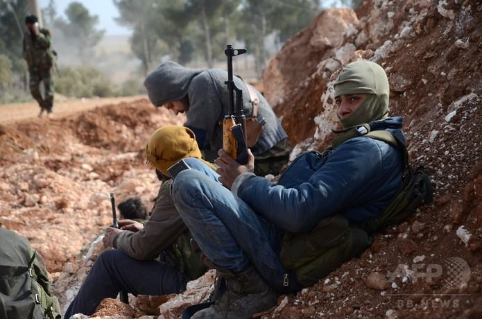 IS、アレッポ最後の拠点「完全包囲下」に 政権側が攻勢