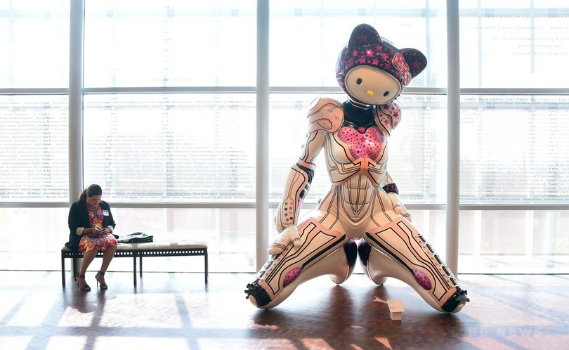 キティちゃん誕生40周年、北米初の記念展示会