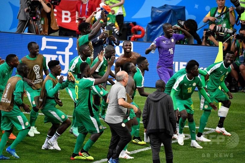 セネガルがポーランド撃破、今大会のアフリカ勢初勝利