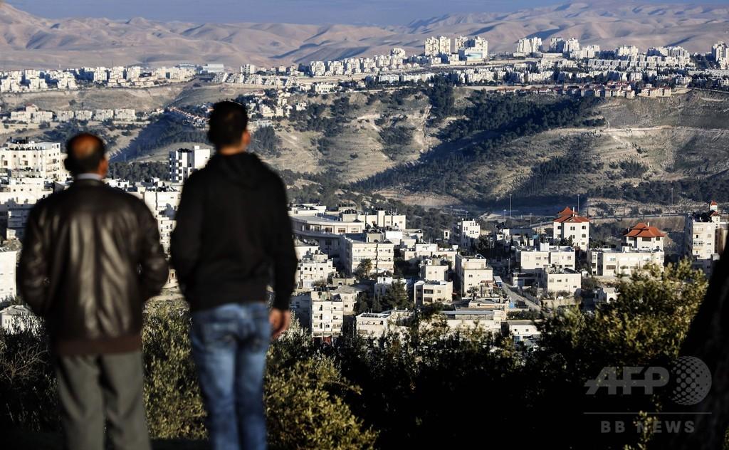 イスラエル、入植住宅2500戸承認 トランプ氏就任で計画加速か