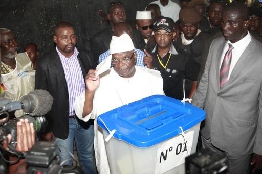 マリで大統領選の投票、クーデター後初の国政選挙